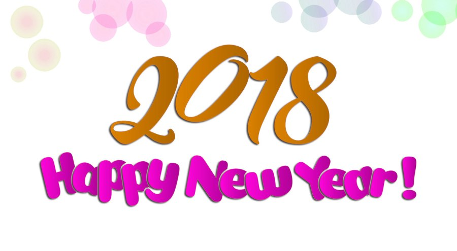 happy new year 2018 free download wallpapers